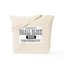 Small Block University Property Tote Bag