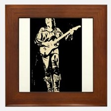 robin trower original art Framed Tile