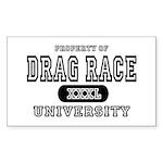 Drag Race University Property Sticker (Rectangular