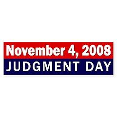 November 4, 2008: Judgment Day sticker