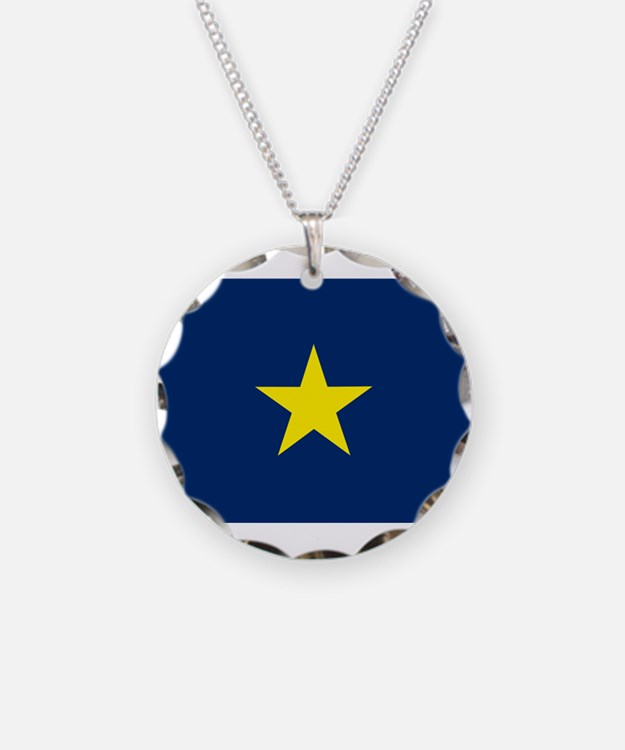Flag of Texas 1836-1839 Necklace