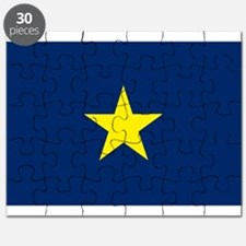 Flag of Texas 1836-1839 Puzzle