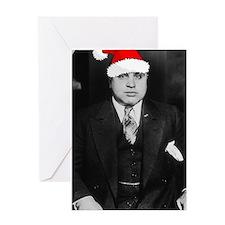 Al Capone Christmas Greeting Card