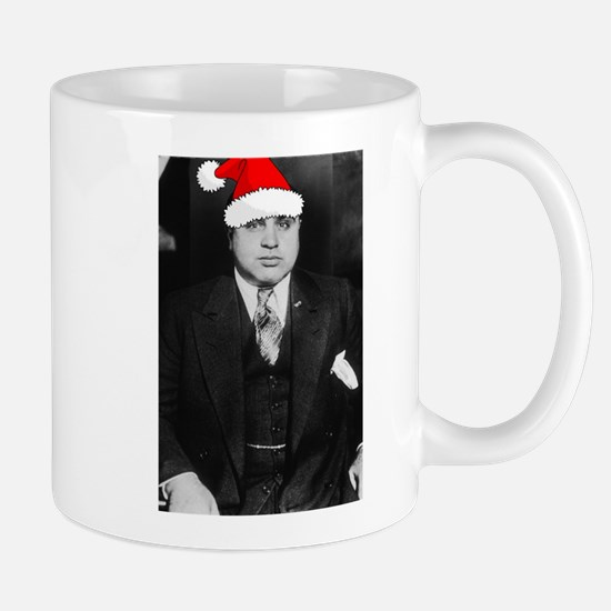 Al Capone Christmas Mug