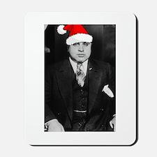 Al Capone Christmas Mousepad
