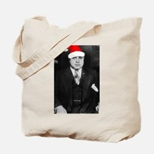 Al Capone Christmas Tote Bag