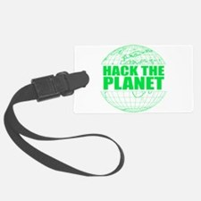 Hack The Planet Luggage Tag