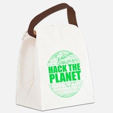 Hack The Planet Canvas Lunch Bag