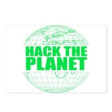 Hack The Planet Postcards (Package of 8)