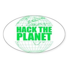 Hack The Planet Decal
