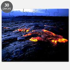 Lava flow - Puzzle