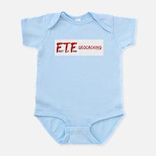 FTF Geocaching Infant Bodysuit