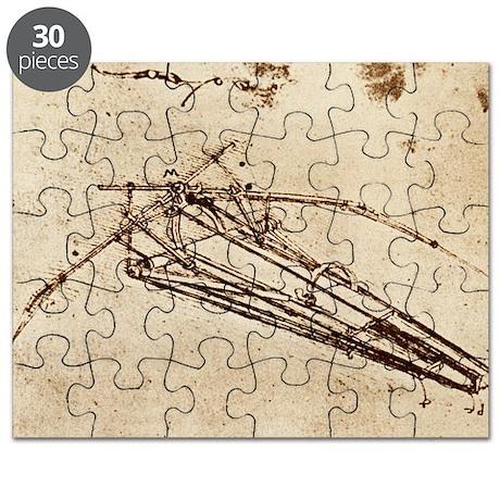 Leonardo's Ornithopter - Puzzle