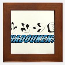 Hadouken! Framed Tile