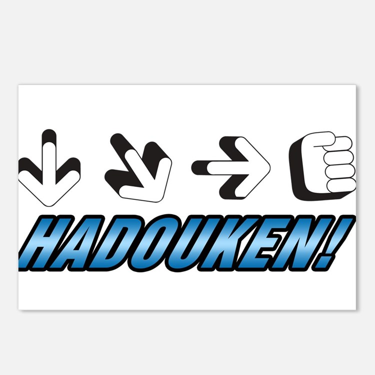 Hadouken! Postcards (Package of 8)