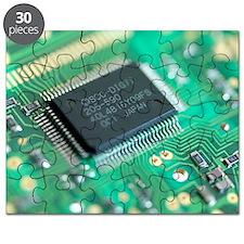 Microprocessor chip - Puzzle