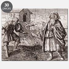 Morienus the Greek and Khalid ibn Yazid - Puzzle