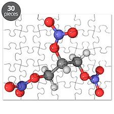 Nitroglycerin molecule - Puzzle