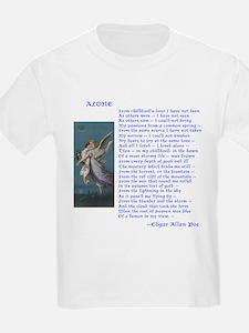 Poe Poem Alone Kids T-Shirt