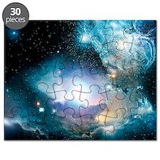 Primordial quasar, artwork - Puzzle