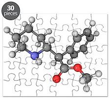 Ritalin molecule - Puzzle