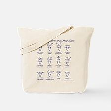 Italian Greyhound Ears Tote Bag