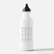 Italian Greyhound Ears Water Bottle