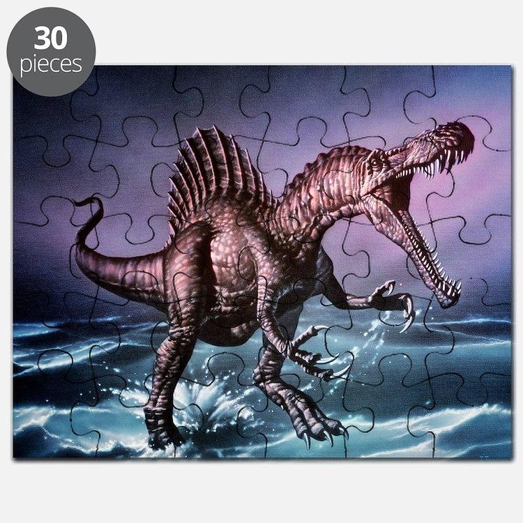Spinosaurus dinosaur - Puzzle