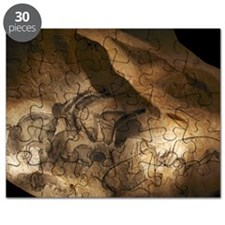 Stone-age cave paintings, Chauvet, France - Puzzle