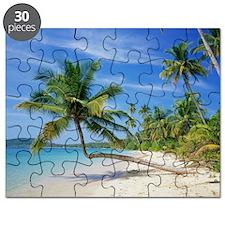Tropical beach - Puzzle