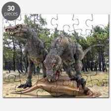 Tyrannosaurus rex dinosaurs - Puzzle
