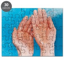 Washing hands - Puzzle