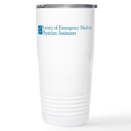 SEMPA Logo Stainless Steel Travel Mug