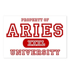 Aries University Property Postcards (Package of 8)