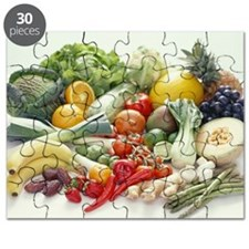 Fruits and vegetables - Puzzle