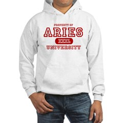 Aries University Property Hoodie
