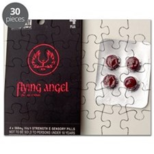 'Flying angel' pills - Puzzle
