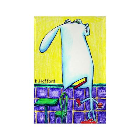 Nudist Rectangle Magnet (100 pack)