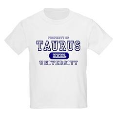 Taurus University Property Kids T-Shirt
