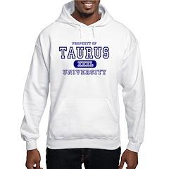 Taurus University Property Hoodie