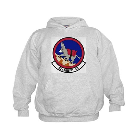 9th Airlift Squadron Kids Hoodie