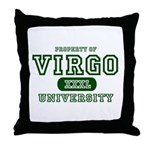 Virgo University Property Throw Pillow