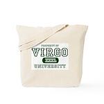 Virgo University Property Tote Bag