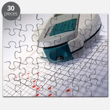 Blood glucose tester - Puzzle
