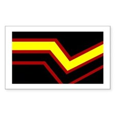 Rubber Pride Rectangle Decal