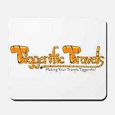 Tiggerific Travels Mousepad