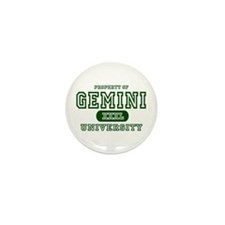 Gemini University Property Mini Button (10 pack)