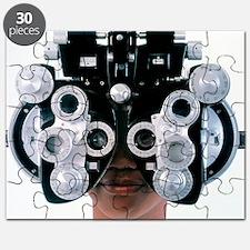 Eye examination - Puzzle