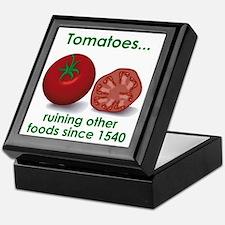 Tomatoes Suck Keepsake Box