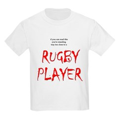 Too Close Rugby Kids T-Shirt